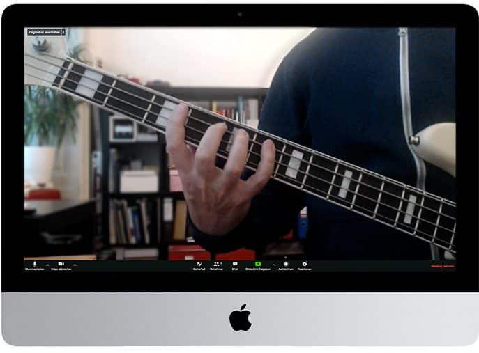 Bassunterricht Wien Online